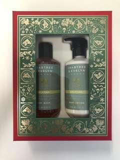 Crabtree & Evelyn pear and pink Magnolia body lotion and wash