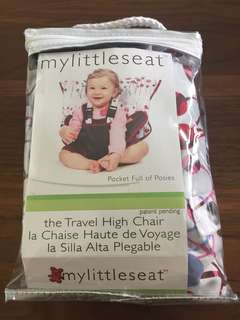 My Little Seat - Baby Traveling High Chair (pocket full of posies)