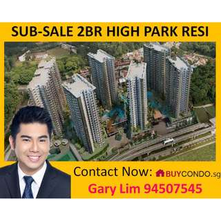 Sub-sale 2Bdrm+2Bath High Park Residence