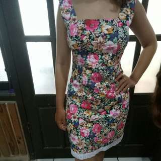 Slim dress import