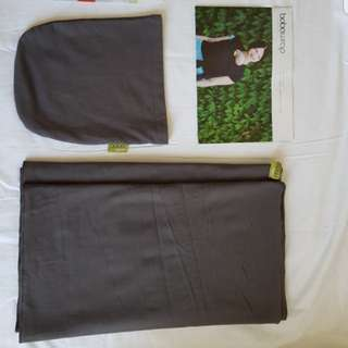 Boba organic wrap/ baby sling