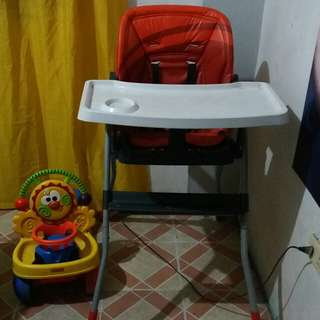 Chicco high chair (adjustable seat)
