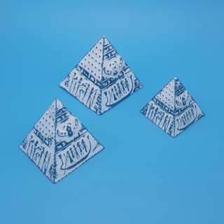 Pyramid 金字塔 三件 ~ Egypt 埃及