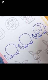 Kids Learning Drawings Set Brand New .. This Help Kids To Practice And Learn How To Draw Items