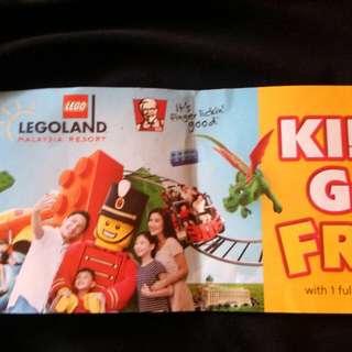 Legoland voucher Kids go free