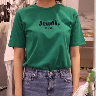 韓國 設計款 四月連線 新品 東大門 限時 收單 T恤 上衣 春季 短袖 休閒 折袖