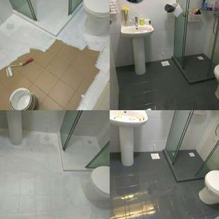 PU epoxy paint for toilets wall tiles and floors