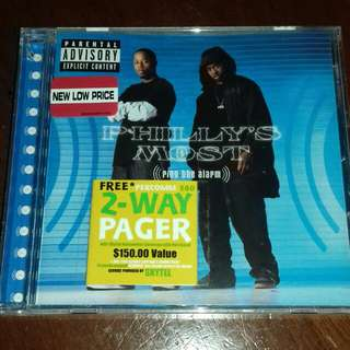 Philly's Most Ring The Alarm original USA pressing cd sealed Rap