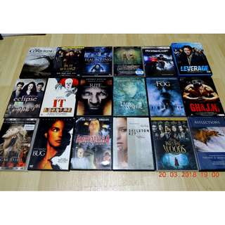 DVD 18 X Titles (All for $50 Only)
