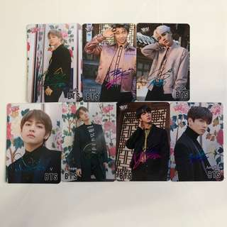 BTS Yes!Card 第32期 簽卡(彩/金/銀)