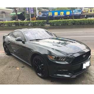 2015年 Ford Mustang 138.8萬 便宜出清野馬2.3 限量軍綠紀念版 目前總代理保固中!
