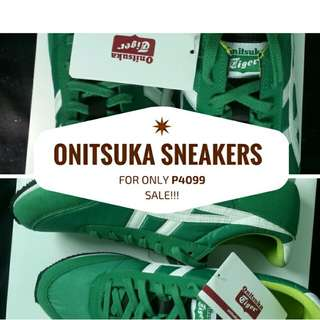 Onitsuka Sneakers Original RUSH REPRICED TO P3099 only SALE!!! nike adidas lacoste