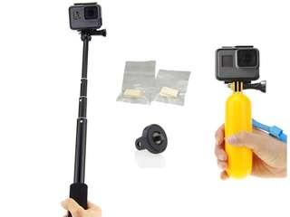 Gopro action camera selfie stick accessories