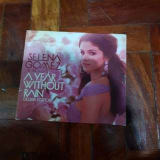 Selena gomez & the scene a year without rain deluxe edition