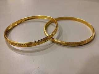 BANGLE(s) EURO GOLD 22 CARAT