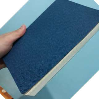 NOTE BOOK FRONT BLUE