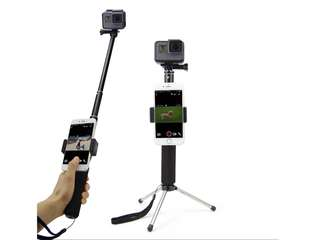 Gopro/ action camera selfie stick stand