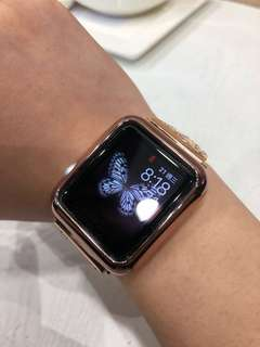 Apple Watch S1 99%玻璃面無花 錶身有輕微花痕