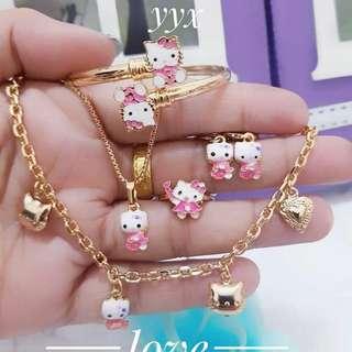 Perhiasan xuping hello kity
