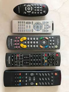Mix Brand TV VCD remote control