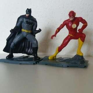 D.C. comics Mini Figs Batman Flash