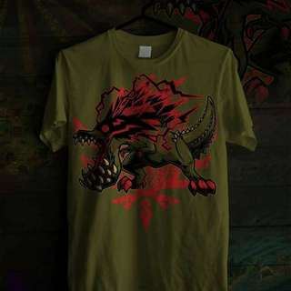 Interest Check for Monster Hunter Custom Deviljho Shirt