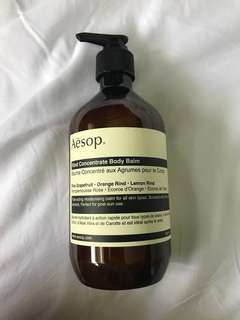 Aēsop Rind Concentrate Body Balm
