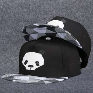 !Panda Hip-Hop Flat hat!
