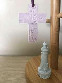 燈塔&十字架擴香石擺設