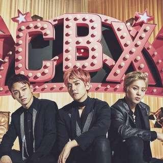 EXO CBX Japan Album & Goods