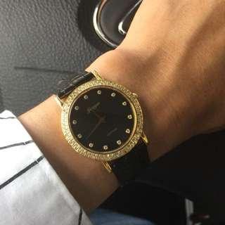 瑞士尊爵天然鑽錶(中性款)