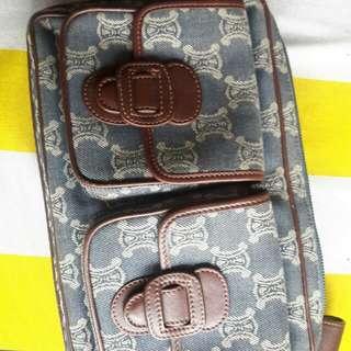 Vintage celine sling bag