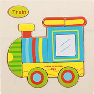 CZ01 - Kid Wooden Puzzle (Train)