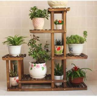 Carbonized Plant stand