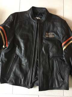 Harley Davidson leather jacket XL will suit L NEW