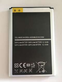 Battery New and good quality with 6 Months Warranty