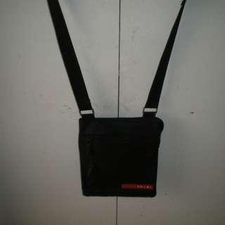 PRADA messenger cross shoulder bag