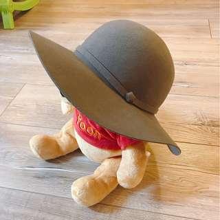 法式優雅圓帽