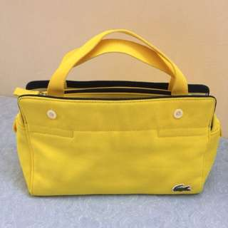 Authentic Lacoste handbag