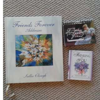 Friends Forever address book by Sally Clough