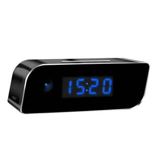 Spy Hidden Wifi Digital Clock Pinhole Wireless IP Camera - (Full-HD 1080P Resolution) - Motion Detection - Night Vision - Audio Recording - Rechargeable Battery