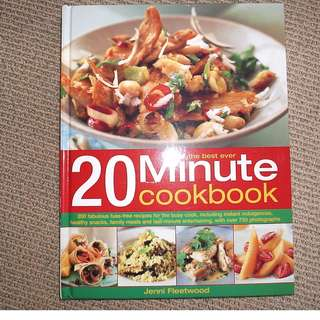 The Best Ever 20 Minute Cook book By Jenni Fleetwood