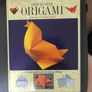 Origami step by step book