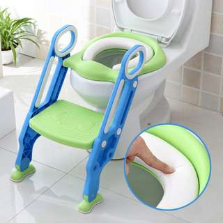 Kids Step Potty with Softcushion