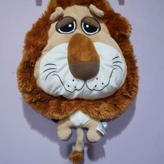 RARE FIESTA Lion Plush Backpack (Never use before!)