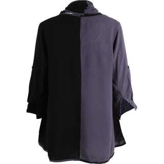 (X)SML Black And Purple Outerwear