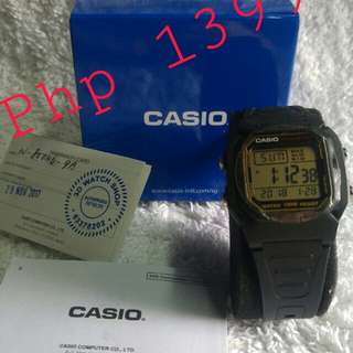 Casio Sport2 watch
