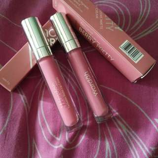 Wardah Intense Matte Lip Cream