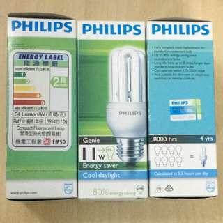 Philips 慳電燈膽 燈泡