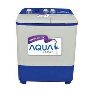 Aqua Mesin Cuci 8 Kg (2 tabung)